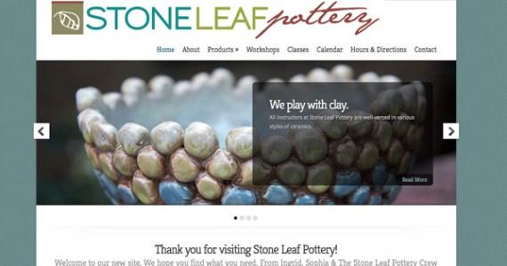 StoneLeafPotterySite