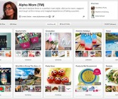 Management of Alpha Mom Pinterest Account