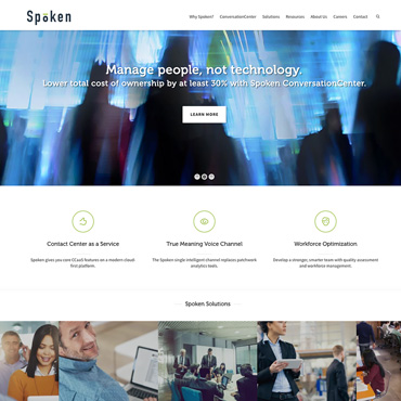 Spoken Web Site